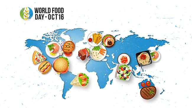 Feed the world clipart image royalty free download 50 Beautiful Pictures Of World Food Day Wishes 2016 image royalty free download