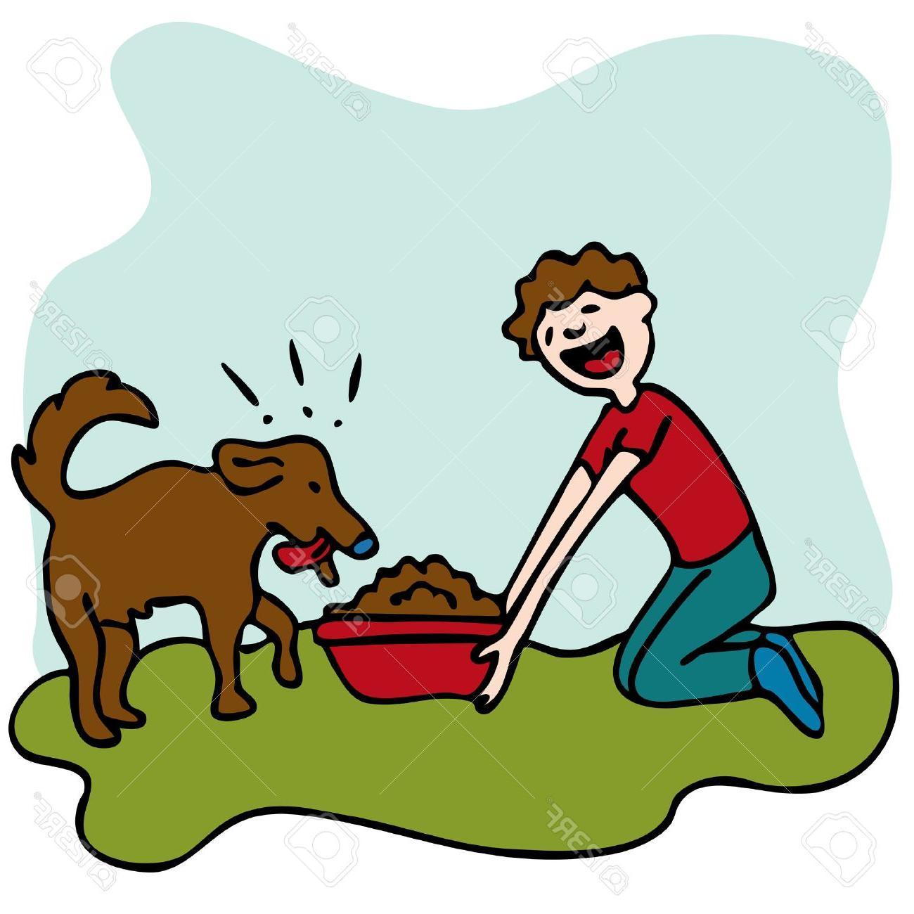 Feeding clipart vector stock HD Feed Dog Clip Art Vector Design » Free Vector Art, Images ... vector stock