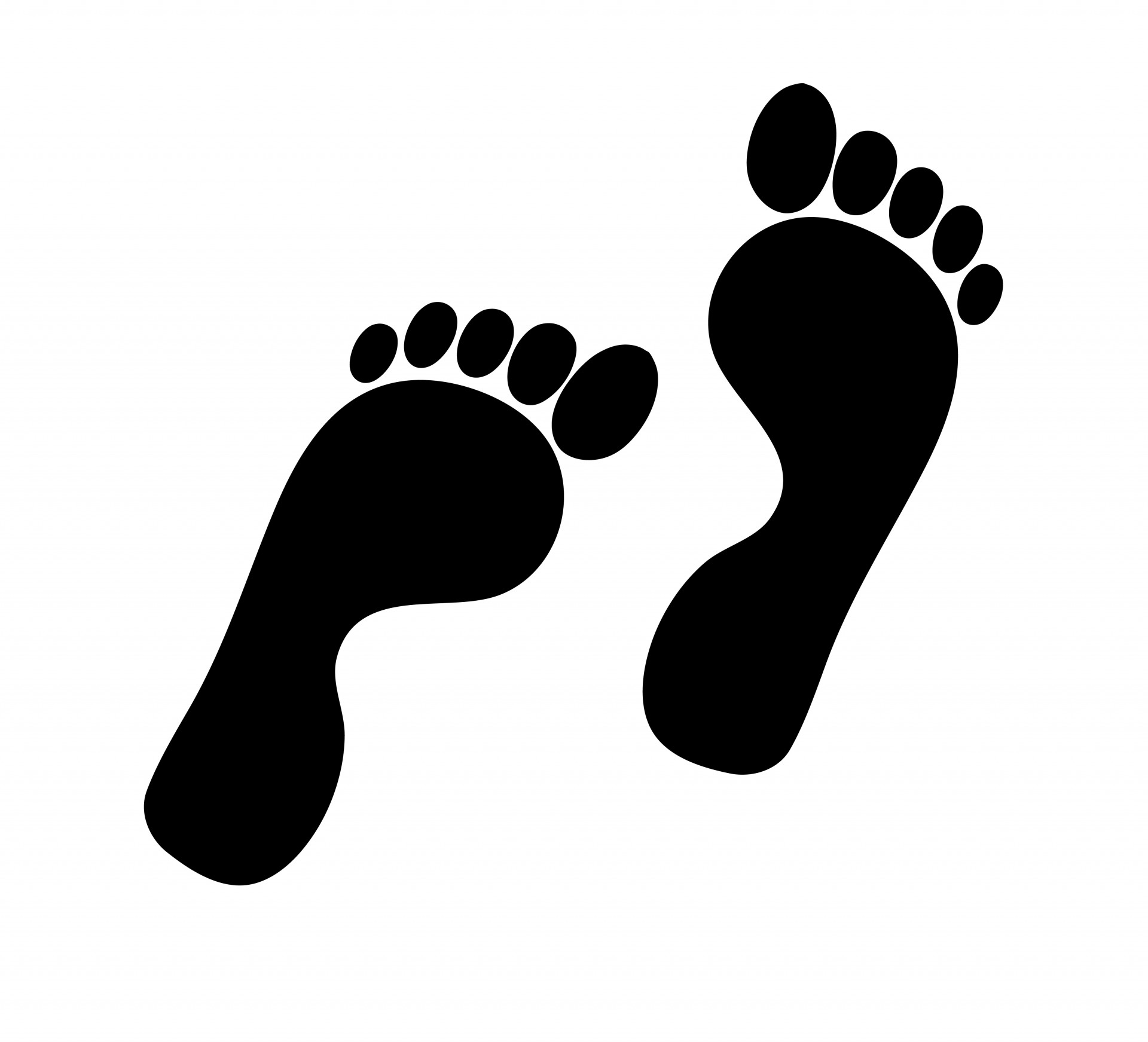 Feet clipart and stock clip freeuse library Foot Print Clipart & Foot Print Clip Art Images - ClipartALL.com clip freeuse library