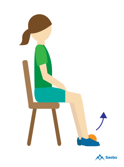 Feet up clipart clip art Get Back On Your Feet with Exercises for Foot Drop | Saebo clip art