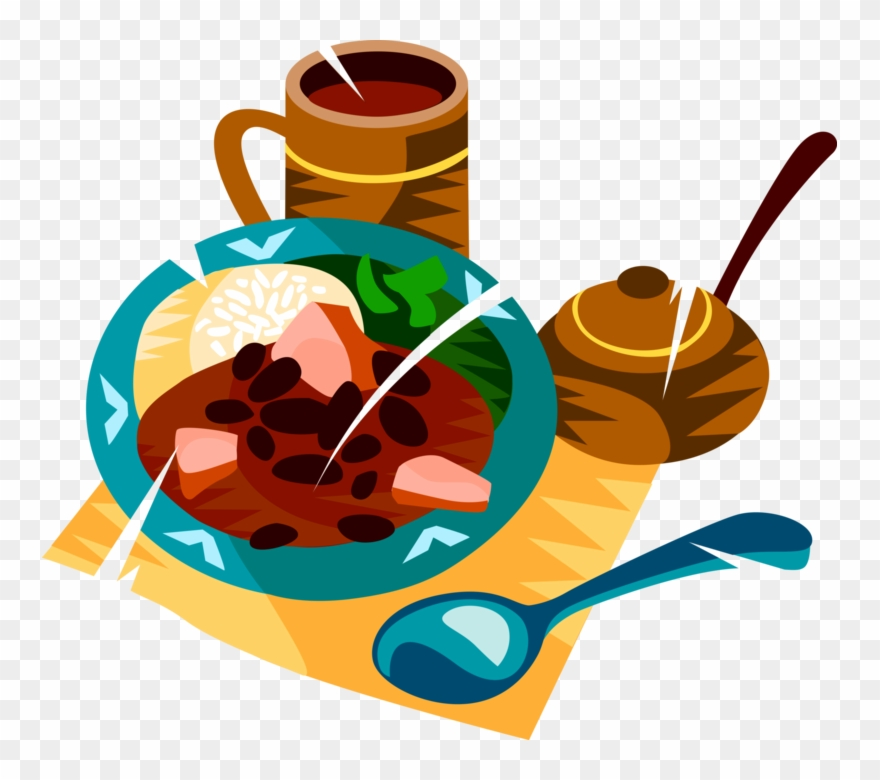 Feijoada clipart image library Blue Jelly Bean Clip Art At Clker - Feijoada Clipart - Png Download ... image library
