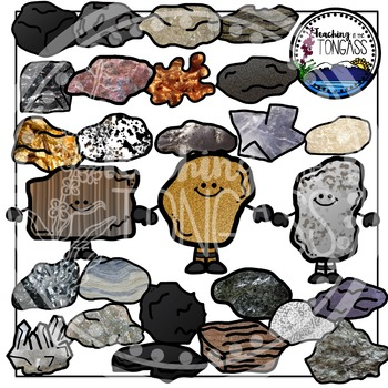 Teachers rock clipart graphic royalty free library Rocks Clipart and Minerals Clipart | Geology Teaching Unit | Rocks ... graphic royalty free library