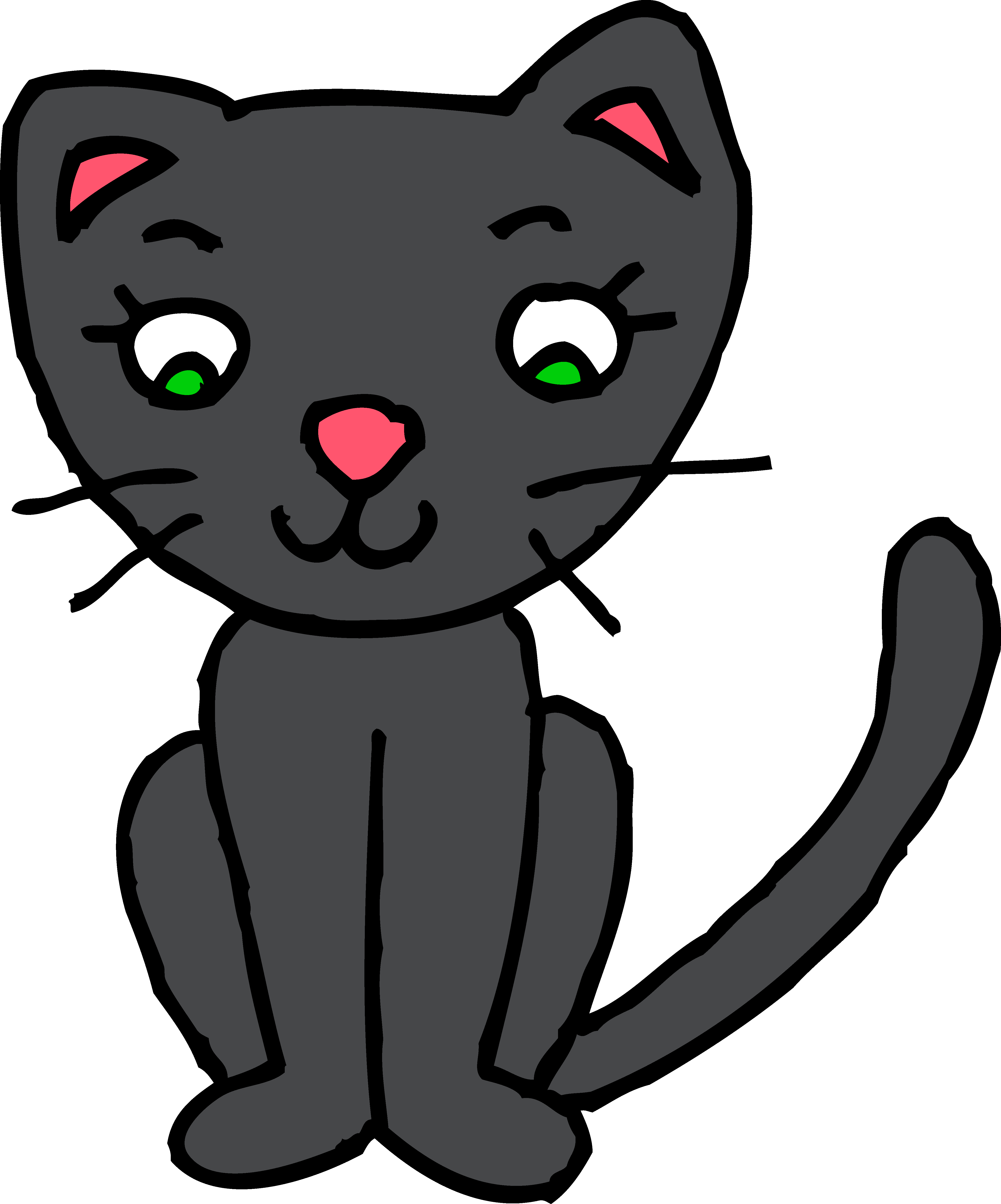 Kitty clipart clip freeuse stock Cat clipart free clipartfest - ClipartBarn clip freeuse stock