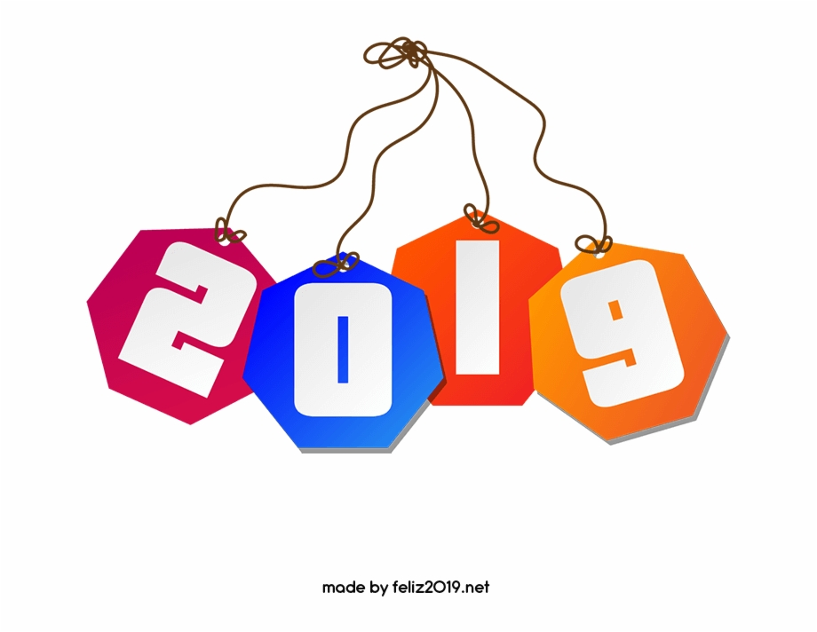 Feliz 2019 clipart vector library Imagenes Feliz Año Nuevo Png - Feliz Año Nuevo 2019 Png Free PNG ... vector library