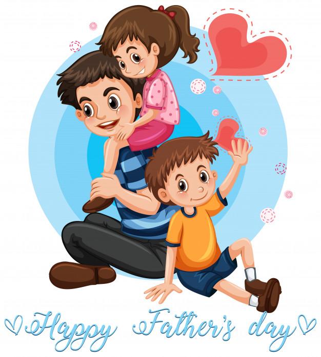 Feliz dia del padre de diseno grafico clipart picture stock Feliz dia del padre plantilla | Descargar Vectores gratis picture stock