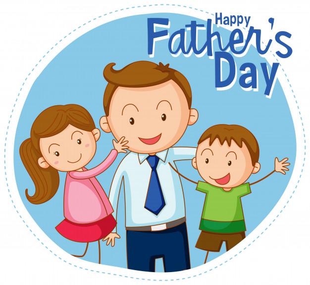 Feliz dia del padre de diseno grafico clipart png library download Un feliz dia del padre. | Descargar Vectores gratis png library download
