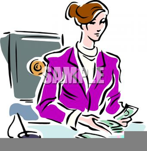 Female accountant clipart vector royalty free stock Clipart Female Accountant | Free Images at Clker.com - vector clip ... vector royalty free stock