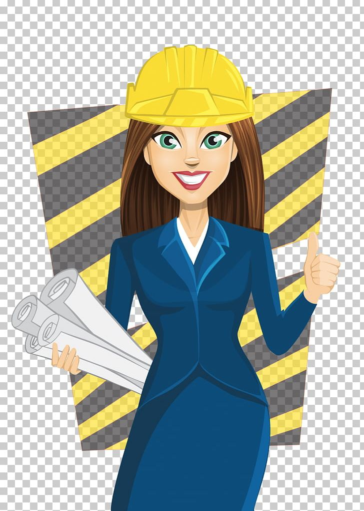 Female architect clipart jpg royalty free download Cartoon Architecture Woman Female PNG, Clipart, Architect ... jpg royalty free download