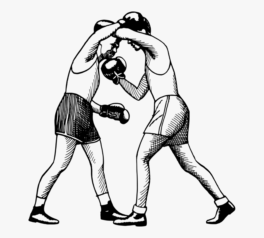 Female boxing gloves clipart banner black and white download Bare-knuckle Boxing Uppercut Boxing Glove Punch - Female Boxing ... banner black and white download