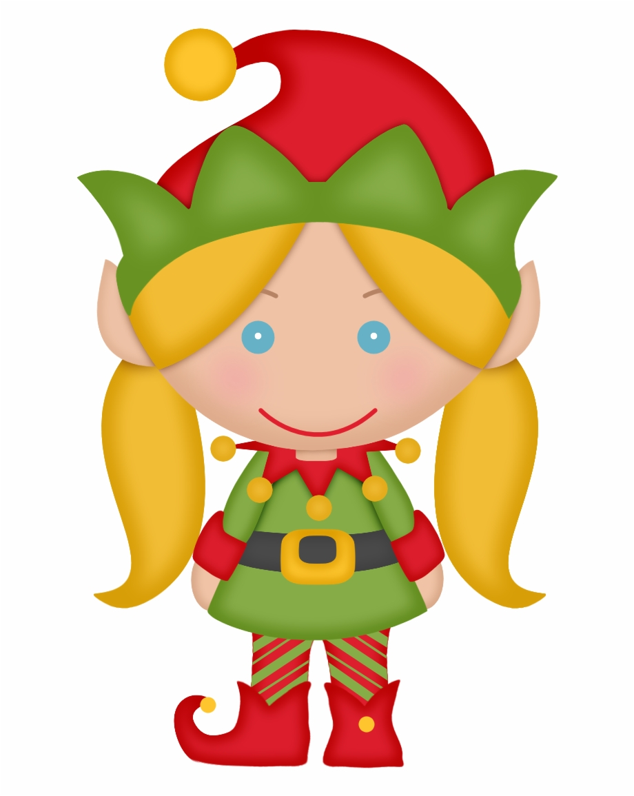 Female christmas elf clipart banner free library Elves Of The Helping Santa Clip Art - Female Christmas Elf Clipart ... banner free library
