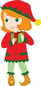 Girl christmas elf clipart jpg free library Girl christmas elf clipart 1 » Clipart Portal jpg free library