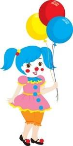 Female clown clipart banner free stock Female clown clipart » Clipart Portal banner free stock