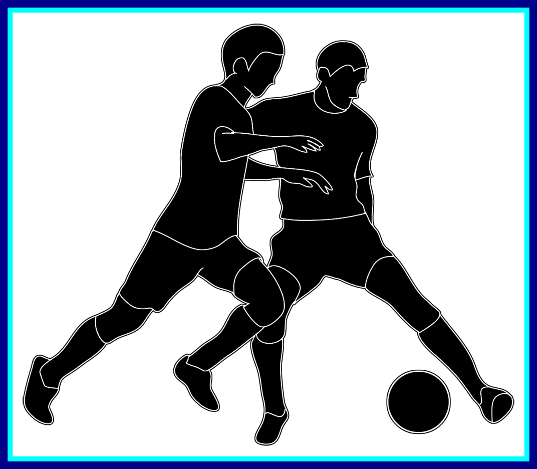 Female football player clipart jpg library download Amazing A Football Player Getting Ready To Snap Ball Picture Of ... jpg library download