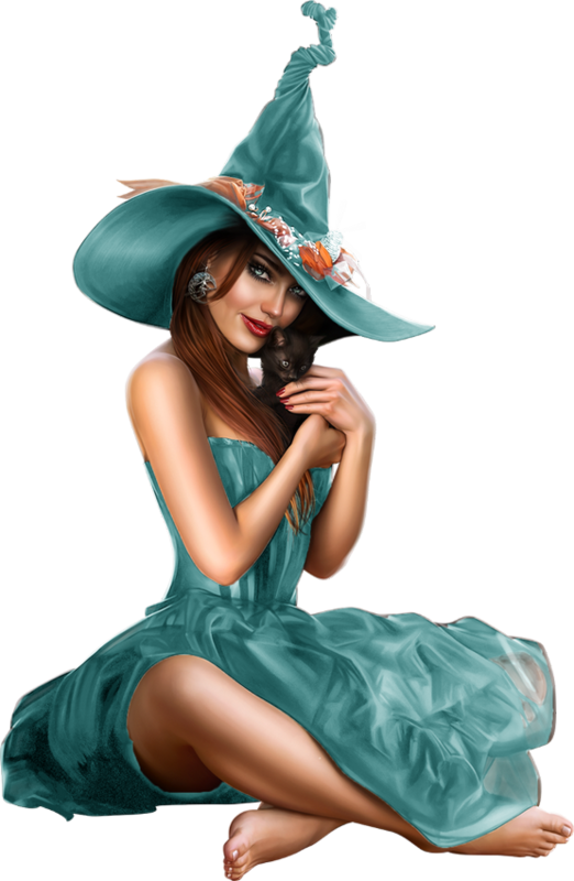 Female halloween clipart. Sorci re png tube