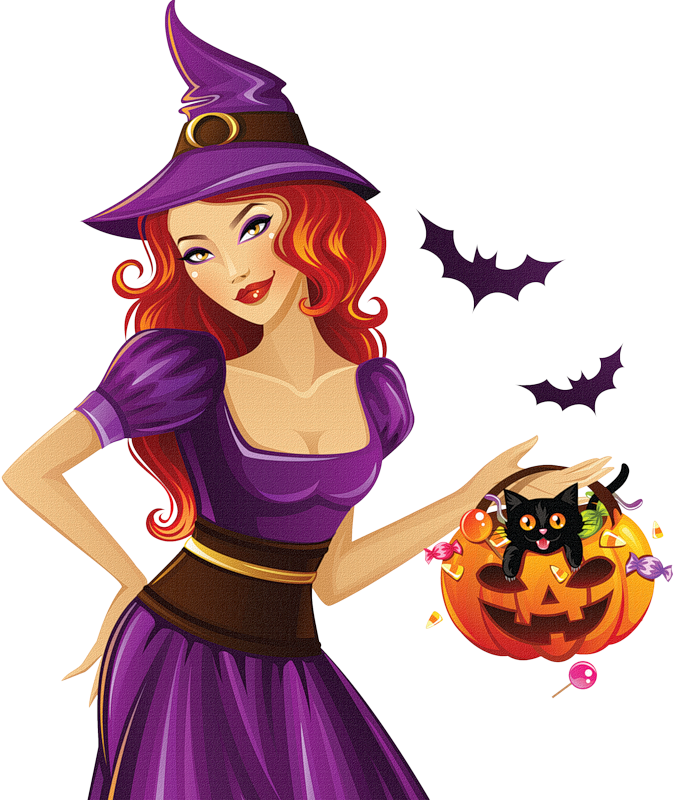 Female halloween clipart. Amarna crafts and images