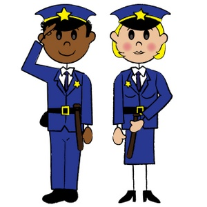 Female police officer clipart clipart black and white stock Female Police Officer Clipart - Clipart Kid clipart black and white stock
