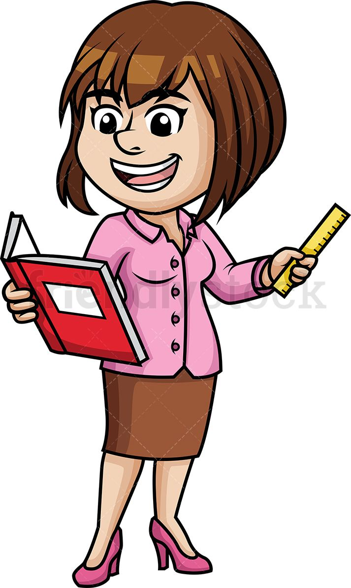 Free cartoon clipart for teachers clipart stock Woman Teaching | Space Bible School | Clip art, Free vector clipart ... clipart stock