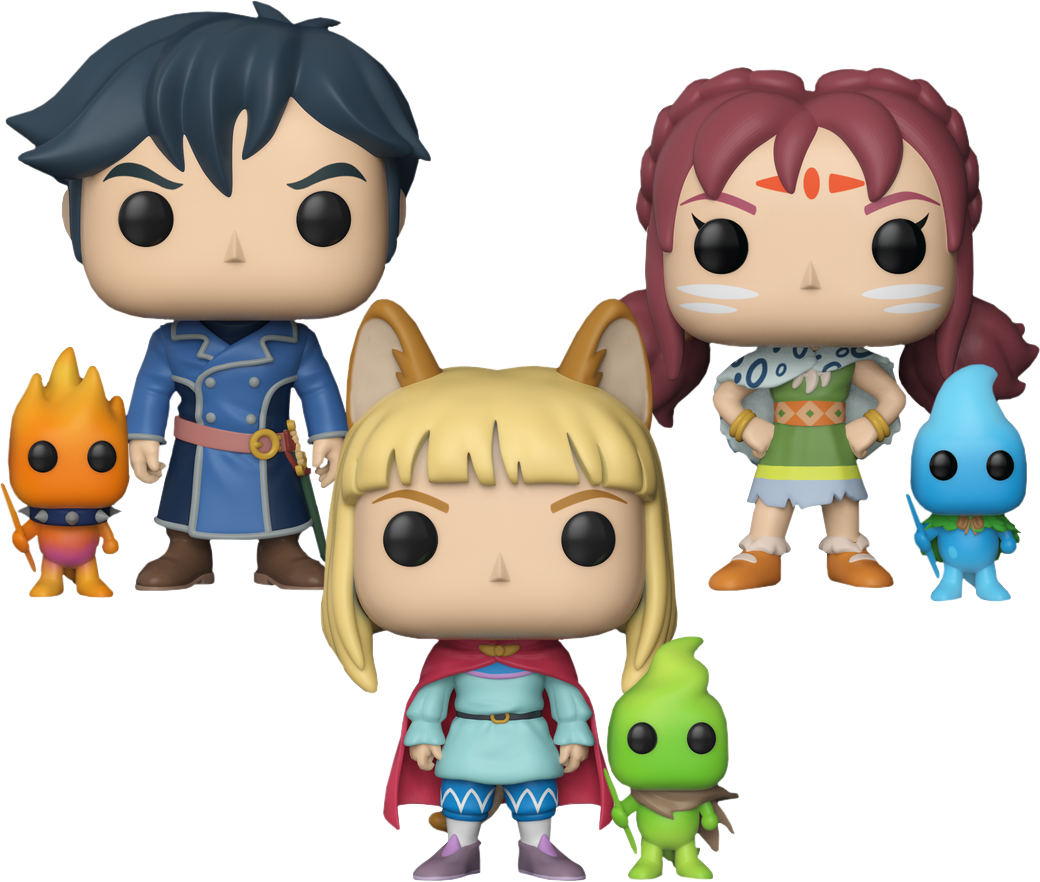 Female rock star figurines clipart free library Ni No Kuni 2: Revenant Kingdom | Ding Dong Dell Funko Pop! Vinyl ... free library