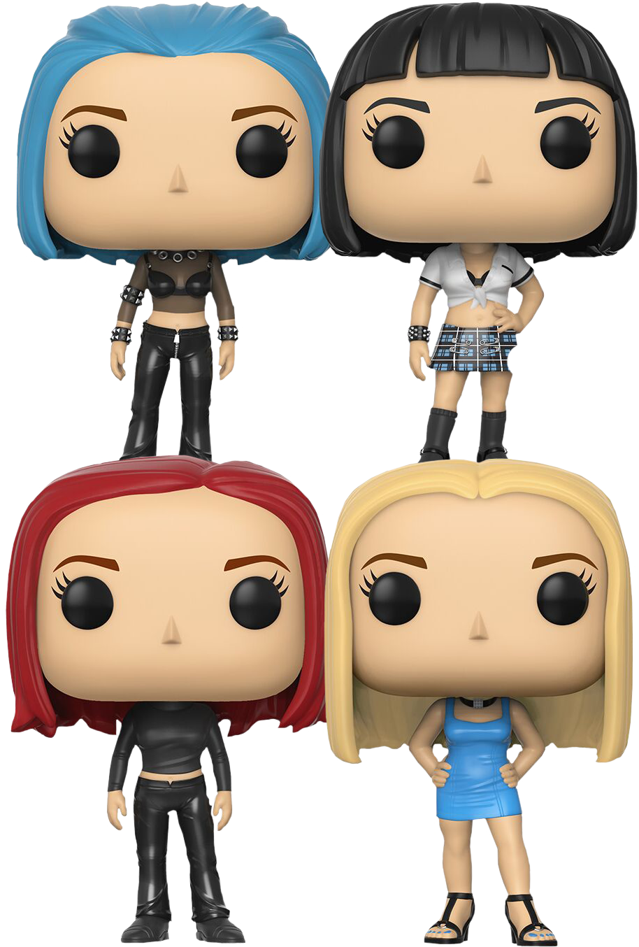Female rock star figurines clipart banner free stock Alias - Alliance of Twelve Funko Pop! Vinyl Bundle of 4 | Popcultcha banner free stock