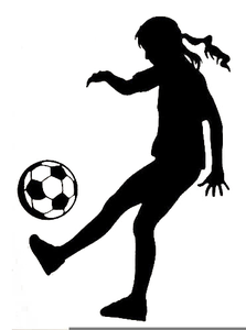Female soccer clipart png free stock Female Soccer Goalie Clipart   Free Images at Clker.com - vector ... png free stock