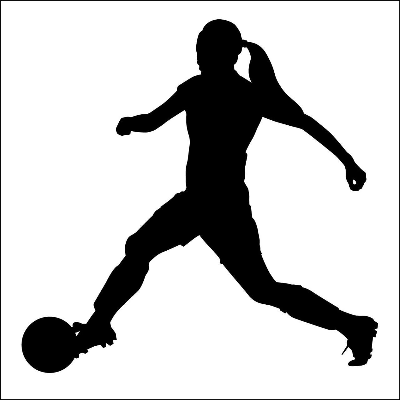 Women s soccer clipart clip black and white download Free Girls Soccer Cliparts, Download Free Clip Art, Free Clip Art on ... clip black and white download