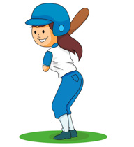 Girls softball clipart svg download Softball Player Clipart | Free download best Softball Player Clipart ... svg download