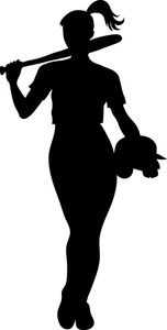 Female softball clipart clip freeuse download Girl softball player silhouette clipart - ClipartFest | Silhouette ... clip freeuse download