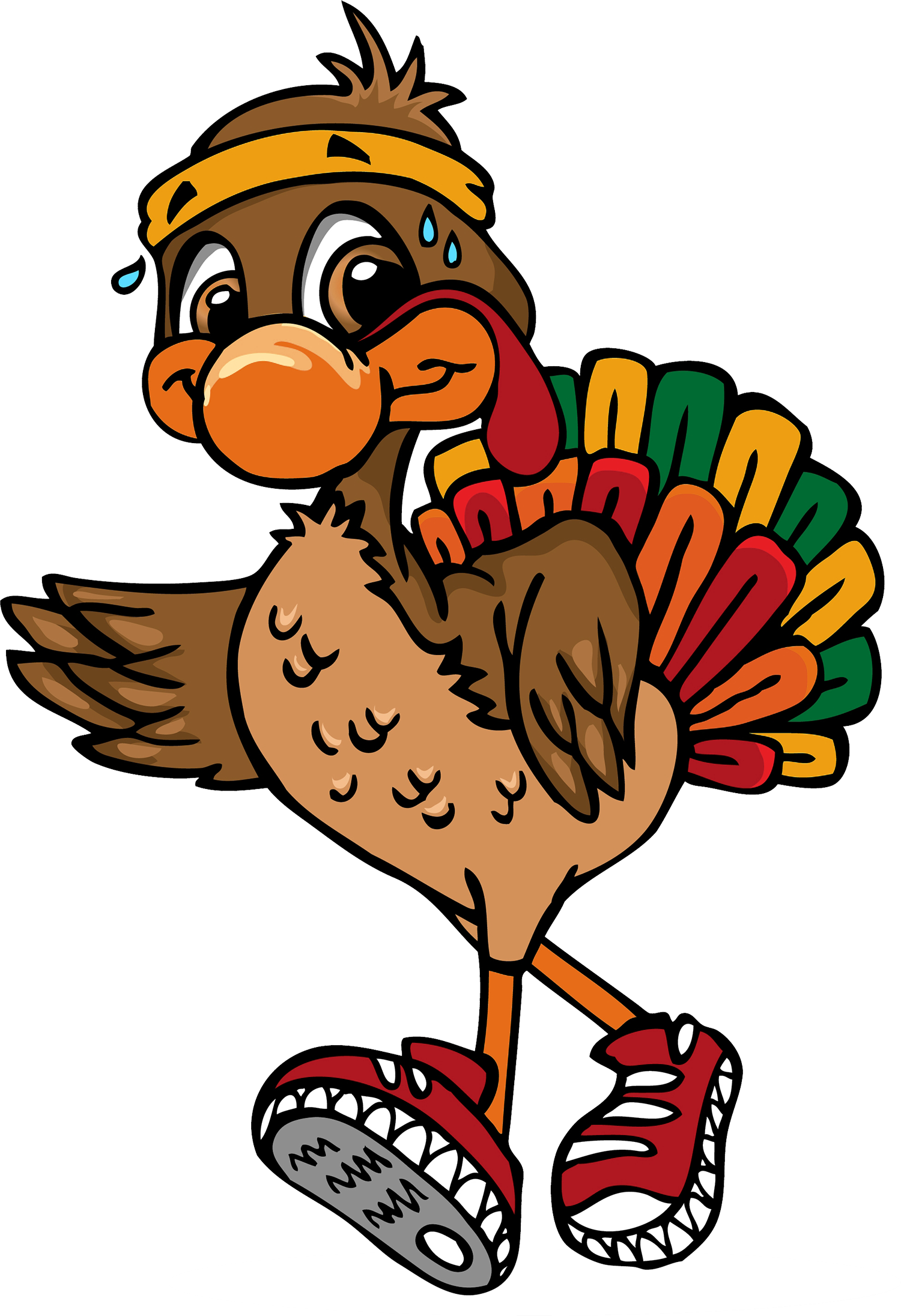Turkey trop clipart vector free library Federation of Organizations Turkey Trot 5K Run - elitefeats vector free library