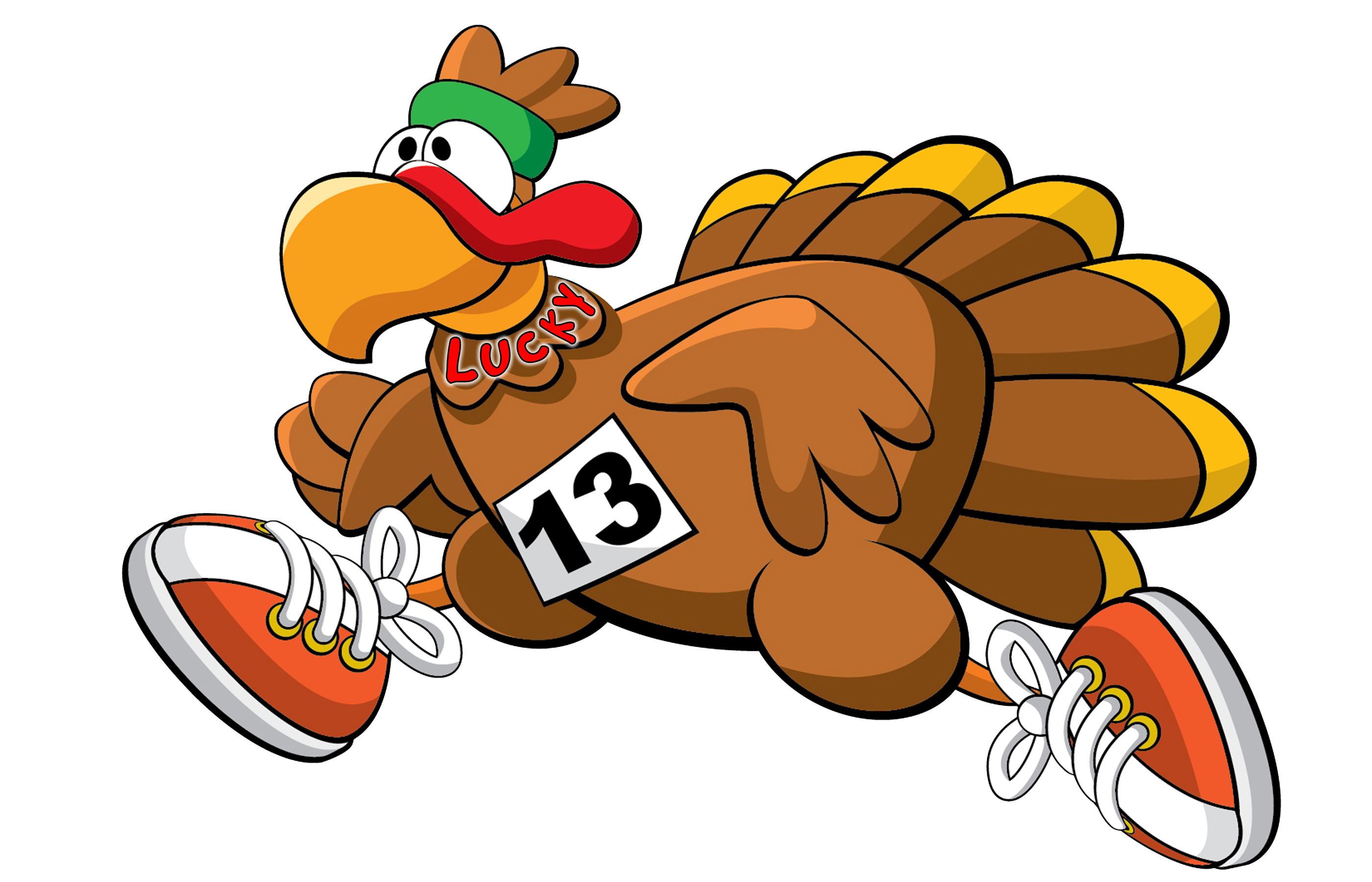 Female turkey running with jewelry clipart graphic freeuse download RUNNING WILD'S WILD TURKEY TROT 5K - Palm Springs, CA 2018 | ACTIVE graphic freeuse download