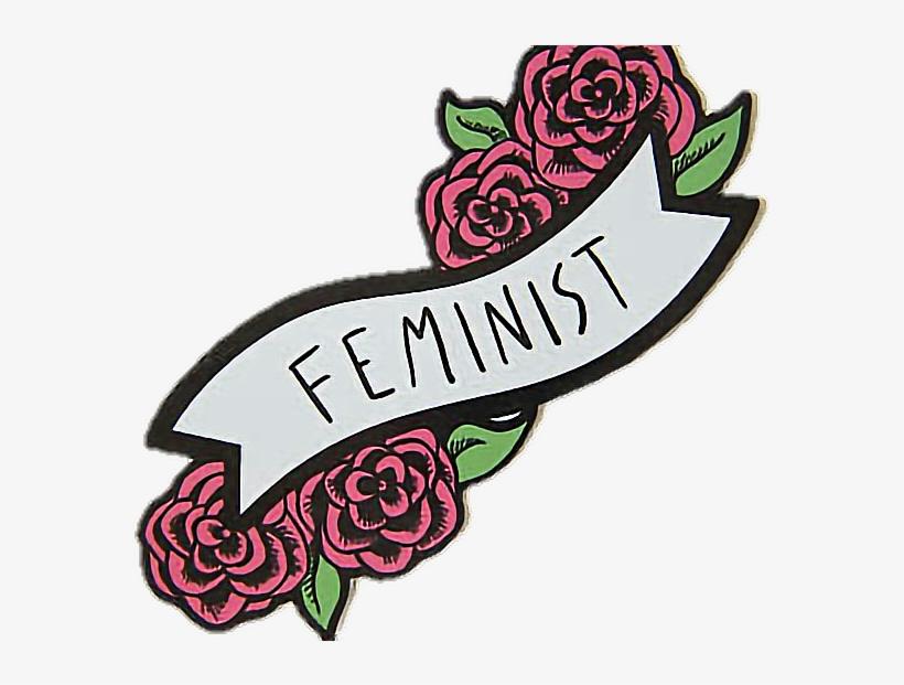 Feminismo clipart banner library Feminismo Feminista Feminist Feminism Rosas Flowers - Sticker ... banner library