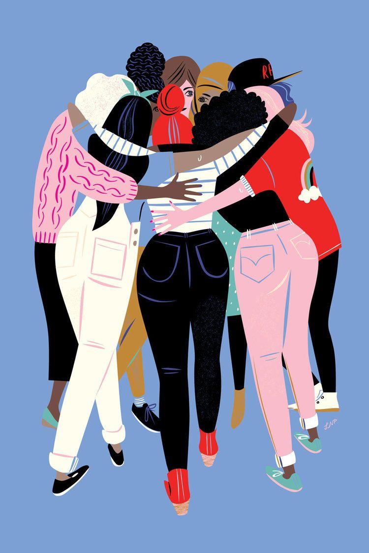 Feminismo clipart graphic Pin de Maxine Butler em CLIPART - FRIENDS   Ilustração, Feminismo e ... graphic