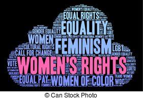 Feminist word clipart image transparent library Feminist economics Illustrations, Graphics & Clipart | Can Stock Photo image transparent library