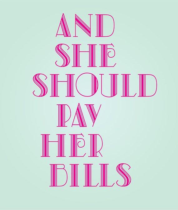 Feminist word clipart jpg royalty free Digital Clipart Quote Elsa Schiaparelli Shocking Pink Green Wall Art ... jpg royalty free