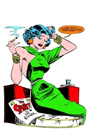Femme fatale clipart image black and white The Spirit: Femmes Fatale by Will Eisner image black and white
