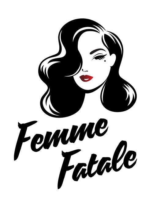Femme fatale clipart clip art transparent library Femme Fatale • A4 Print — Just Call Me Cat clip art transparent library