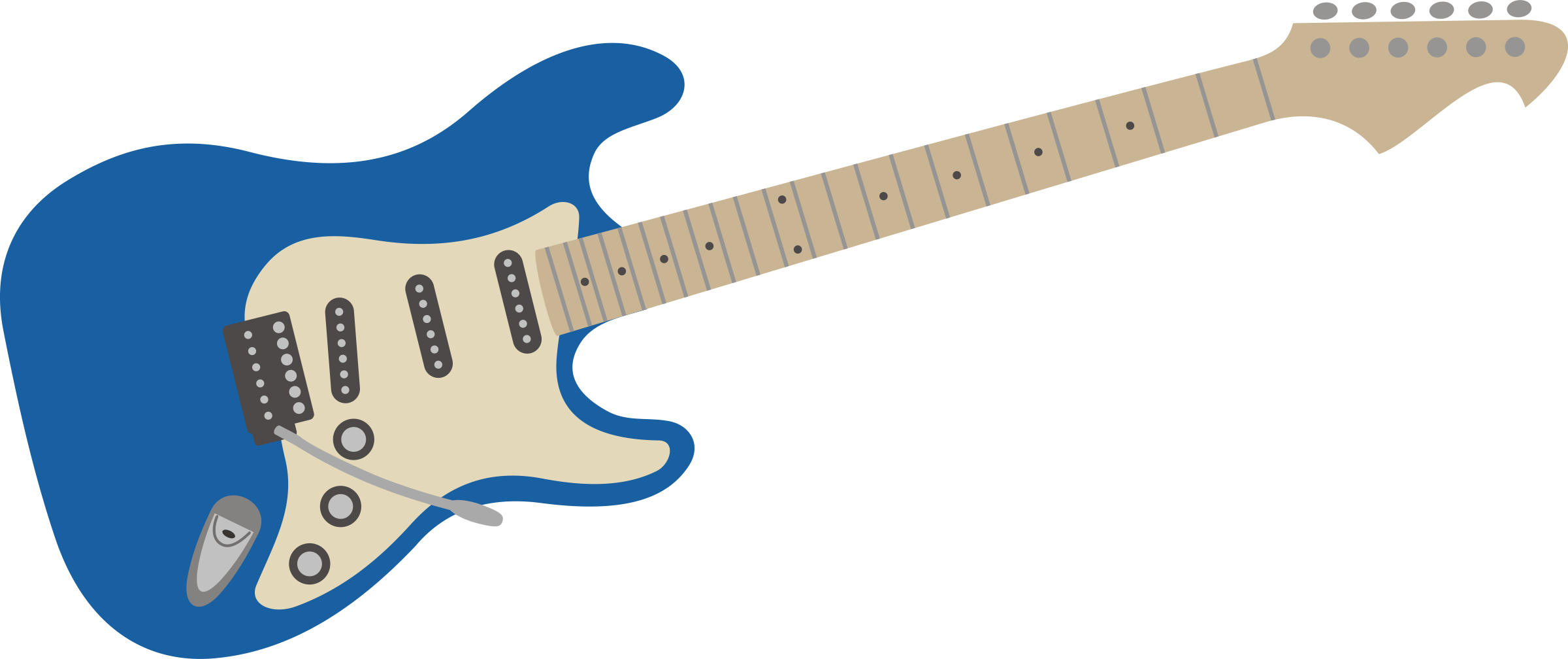Fender guitar clipart graphic transparent library HD Electric Guitar - Fender Stratocaster Transparent PNG Image ... graphic transparent library