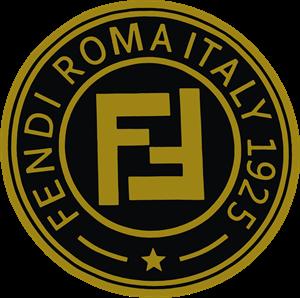 Fendi logo clipart png library library Fendi Logo Vectors Free Download png library library