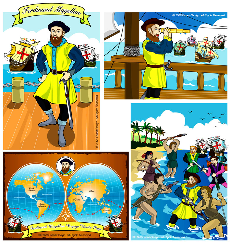 Ferdinand magellans death clipart clipart royalty free library Untitled Document clipart royalty free library