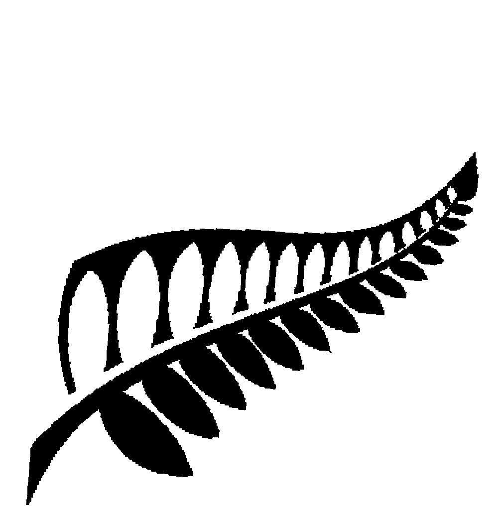 Fern silhouette clipart vector library library FERN LEAF,SILHOUETTE by The New Zealand Way Limited - 886707 ... vector library library
