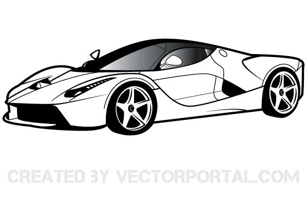 Ferrary clipart svg royalty free stock Ferrari Clipart Free | Free Vectors | Car vector, Car drawings, Ferrari svg royalty free stock