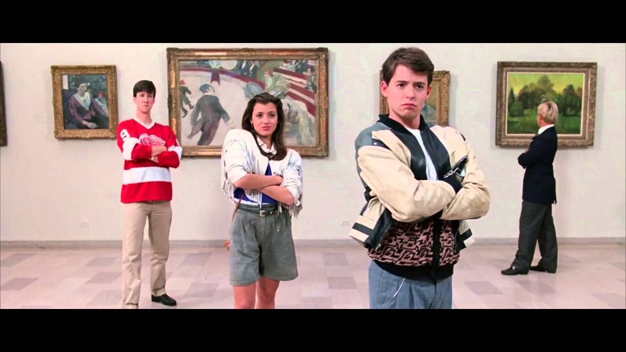 Ferris buellers day off clipart image Ferris Bueller\'s Day Off - The Art Museum image