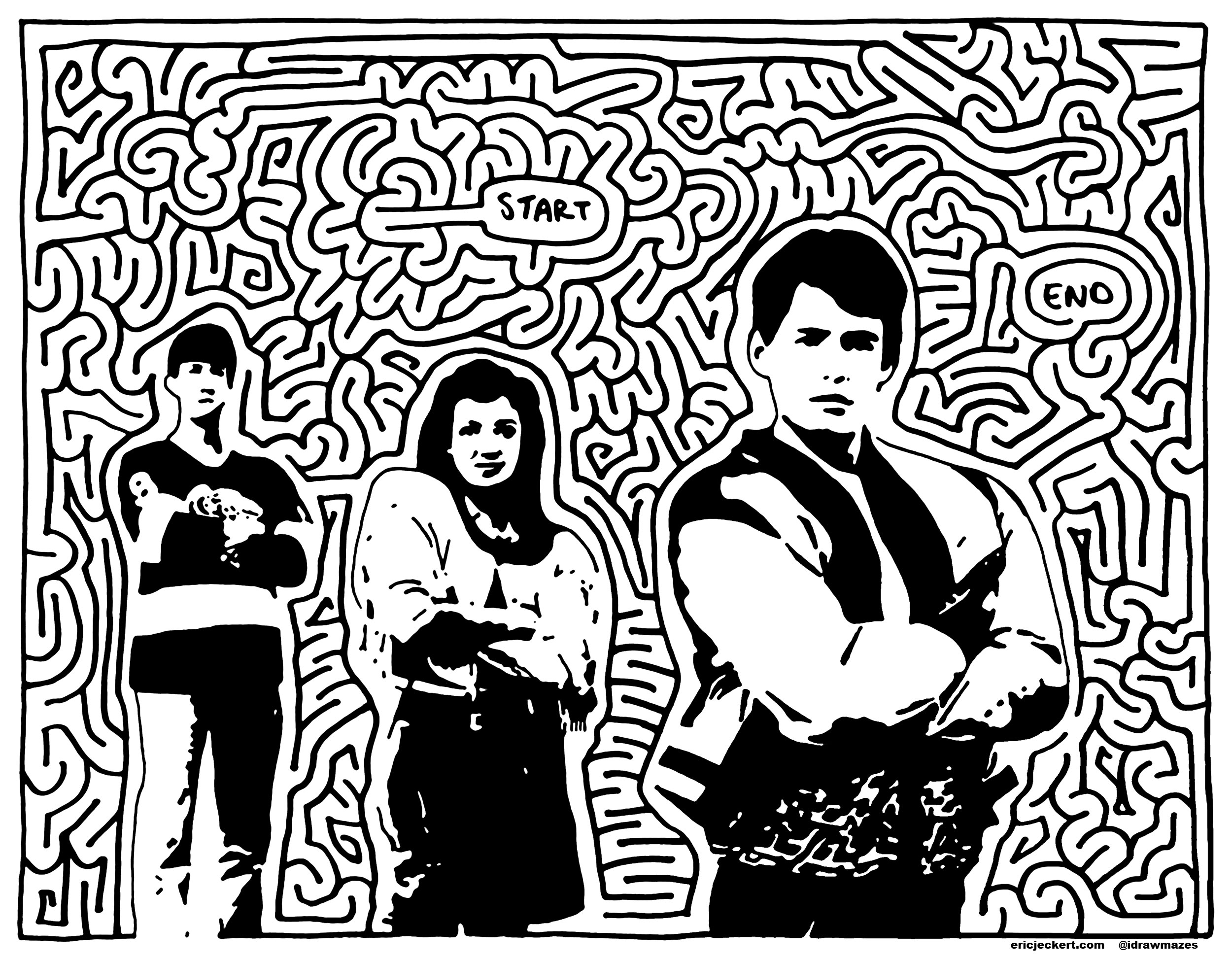 Ferris buellers day off clipart svg black and white library mazes » ferris bueller\'s day off - by Eric J Eckert svg black and white library