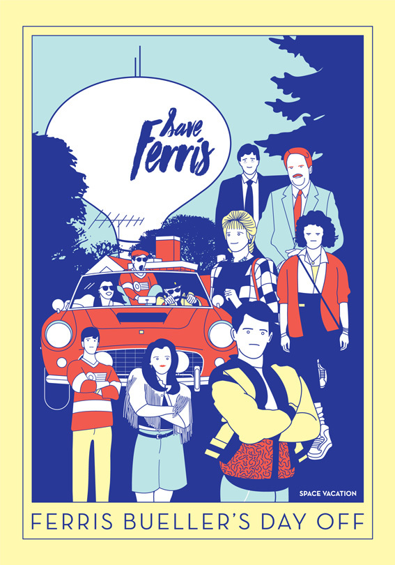 Ferris buellers day off clipart clip freeuse download Ferris Bueller\'s day off - Space Vacation clip freeuse download