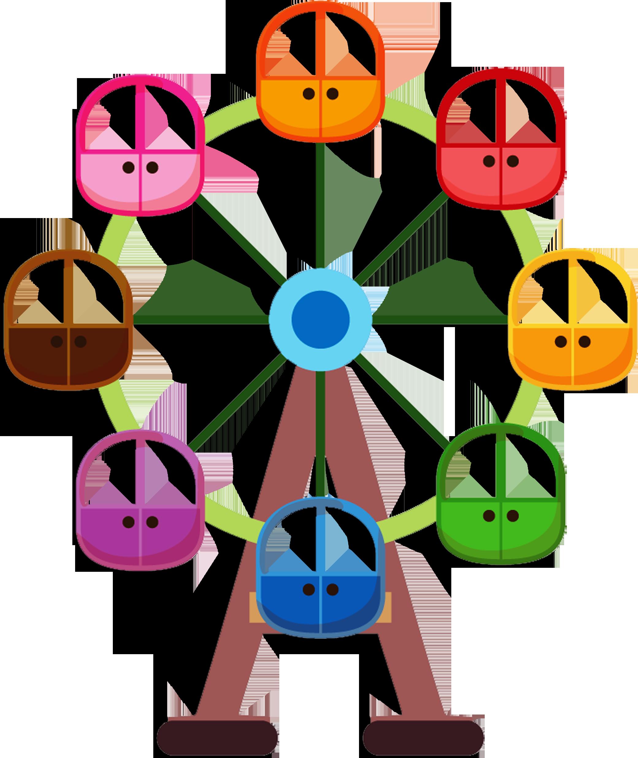 Ferris wheel car clipart image freeuse download CIRCO & PALHAÇO E PARQUE   CLIP ART FOUR   Pinterest   Clip art image freeuse download