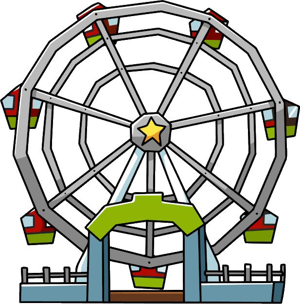 Ferris wheel car clipart clipart library Ferris Wheel   Scribblenauts Wiki   FANDOM powered by Wikia clipart library