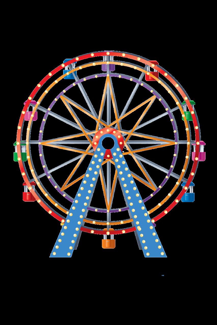 Ferris wheel car clipart clip black and white stock Parque de diversões - Minus   alreadyclipart - carnival; circus ... clip black and white stock
