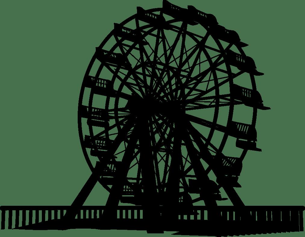 Ferris wheel car clipart vector royalty free stock Car Ferris wheel Clip art - ferris wheel 1013*789 transprent Png ... vector royalty free stock