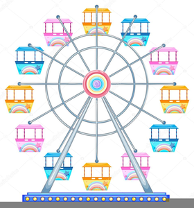 Free clipart ferris wheel. Images at clker com
