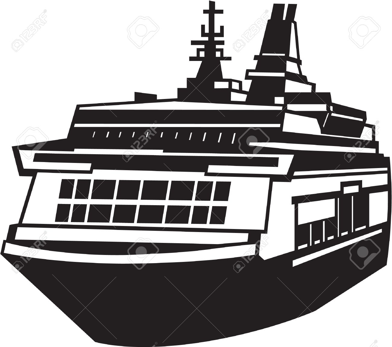 Ferry clipart black and white clip art stock Ferry clipart black and white 5 » Clipart Station clip art stock