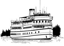 Ferry clipart black and white image royalty free stock Ferry clipart black and white 6 » Clipart Station image royalty free stock